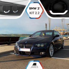 BJ Iconic Lights (KIT 2.2) - BMW 3 E92/ E93/ M3 E90 Xenon