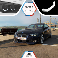 BJ Iconic lights (KIT 3) - BMW 3 E92/ E93/ M3 E90 Xenon
