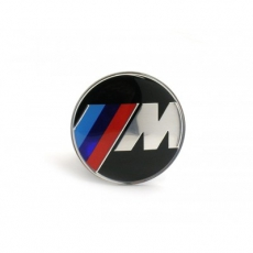 BMW M style znak do volantu 45mm