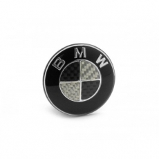 BMW Carbon znak do volantu 45mm
